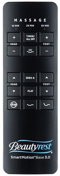 adjustable foundation remote
